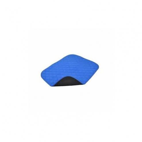 blauwe zitonderlegger